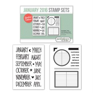 Picture of January Stamp Set